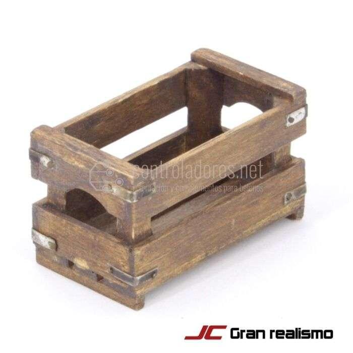 Caja enseres envejecida 5,50x3x3 cm
