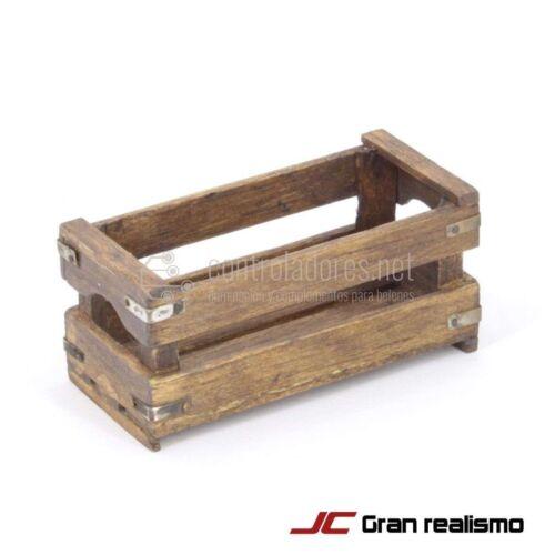 Caja enseres envejecida 7x3,50x3 cm