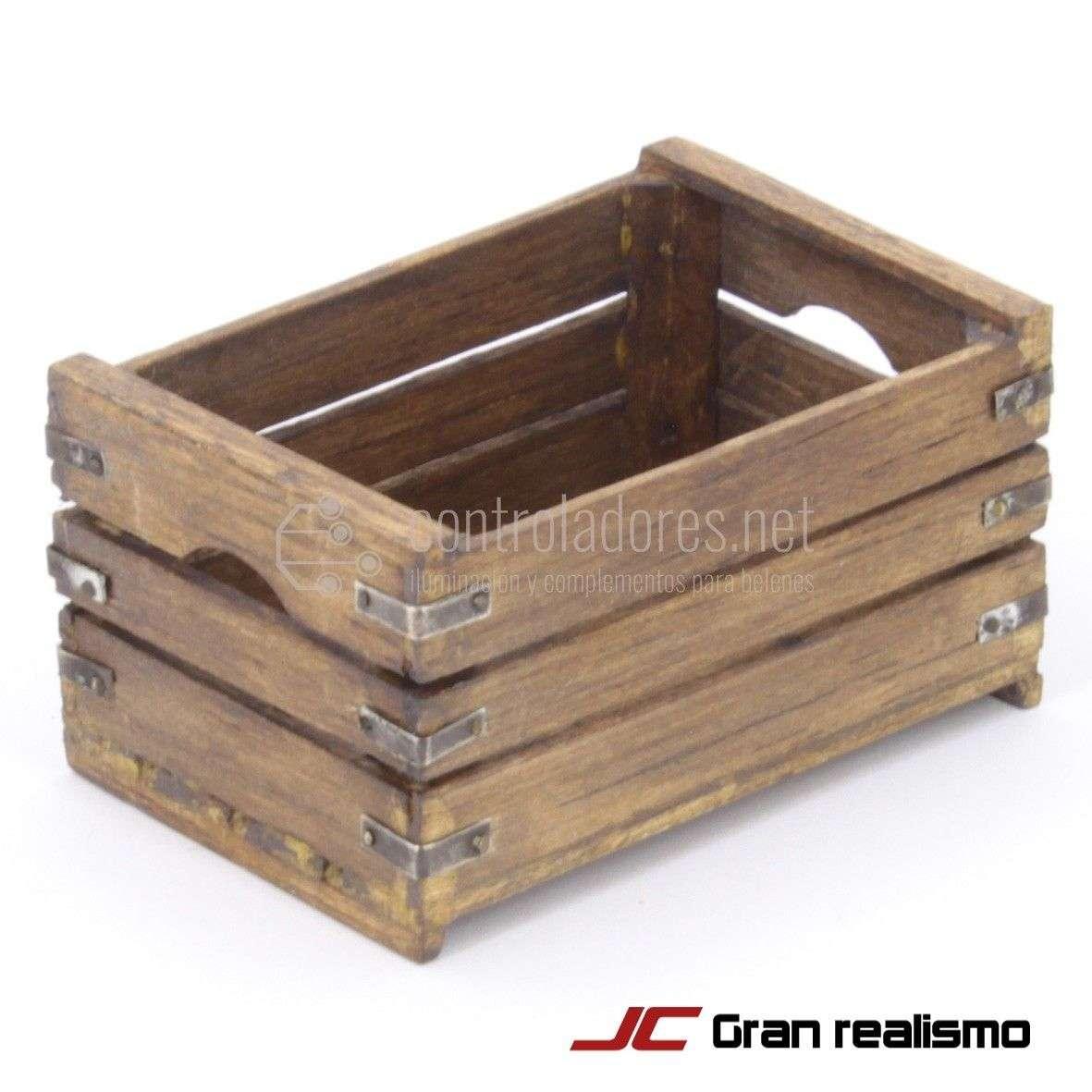 Caja fruta envejecida 7x4,50x3,50 cm