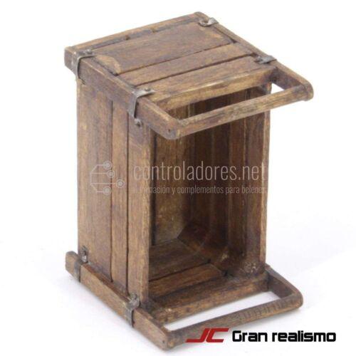 Box diversi usi invecchiato 6,50x4,30x5 cm