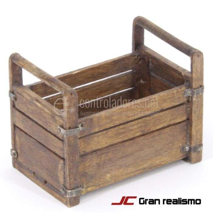 Caja varios usos envejecida 6,50x4,30x5 cm