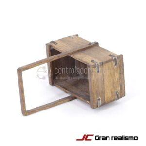 Caja varios usos envejecida 6x3,80x3 cm