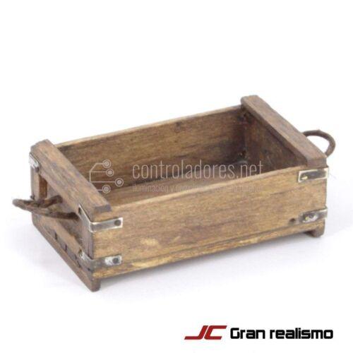 Caja pescado envejecida 6x3,70x2 cm