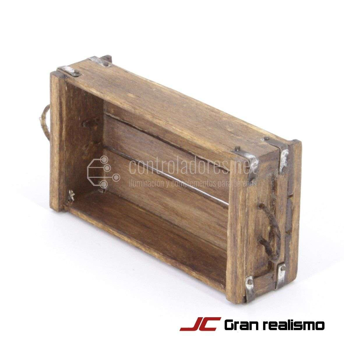 Caja pescado envejecida 7,50x4x2 cm