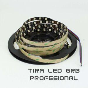 Striscia LED professionale GRB 14.4W / m
