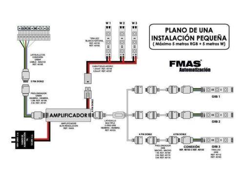 Controllo dell'illuminazione a LED M400