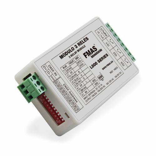 Uscite modulo relè 3 Compatibile serie L800