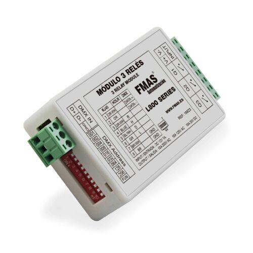 Módulo de relé 3 salidas Compatible serie L800