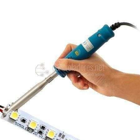 Cortado y cableado de tiras LED