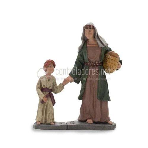 Pastora con niño Nº 4