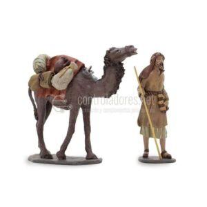 Gruppo cammello e piede di cammello caricati