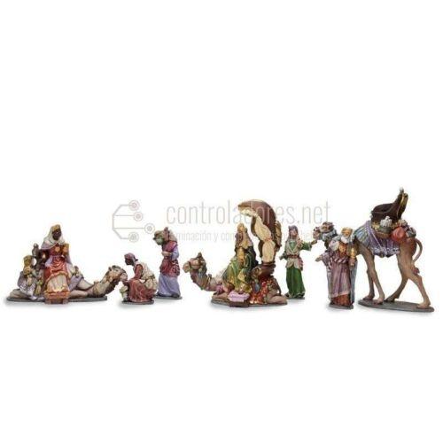 Reyes adorando (Grupo)