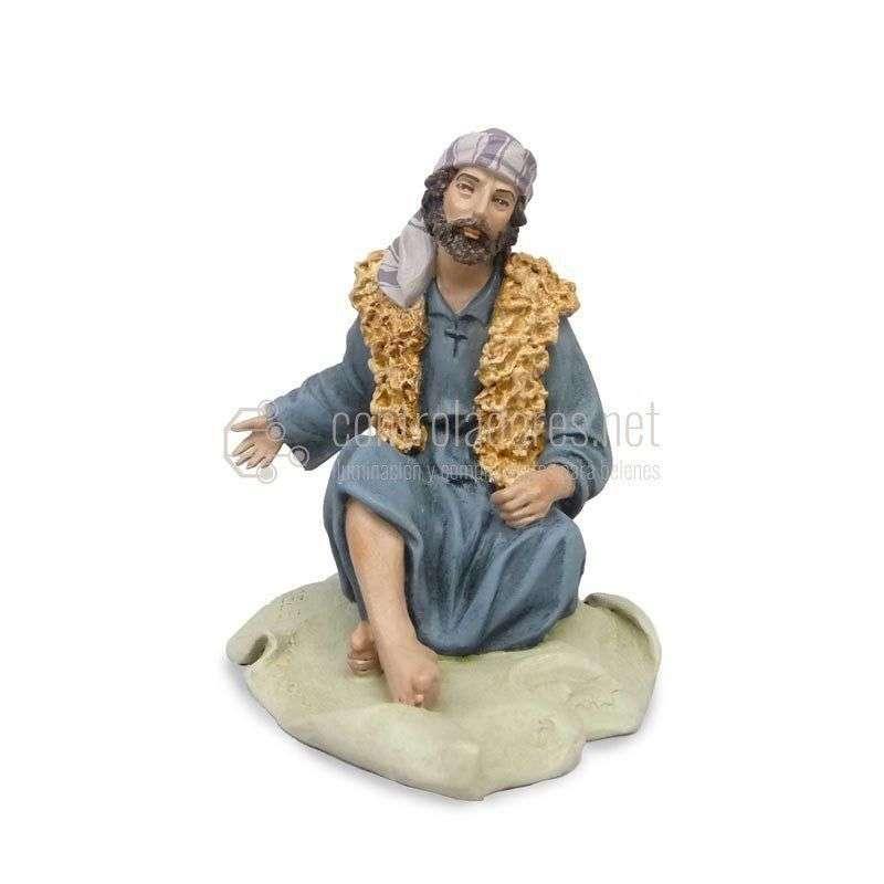 Pastor sentado con manta Nº 7