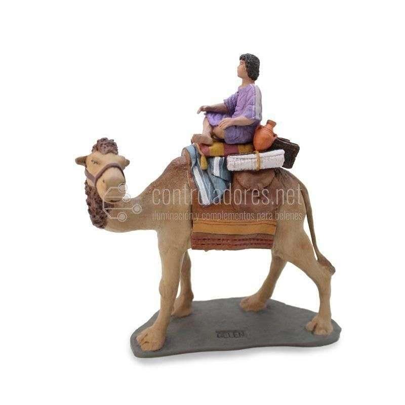 Camello con carga y niño Nº 2