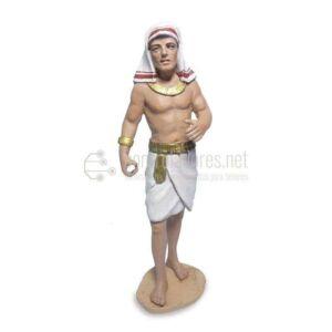 Egipcio porteador lado izquierdo