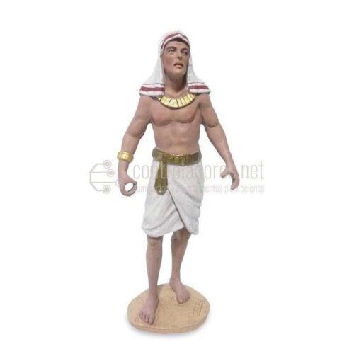 Egipcio porteador lado izquierdo (dos brazos bajos)