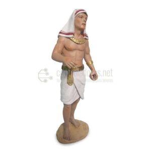 Egipcio porteador lado derecho.
