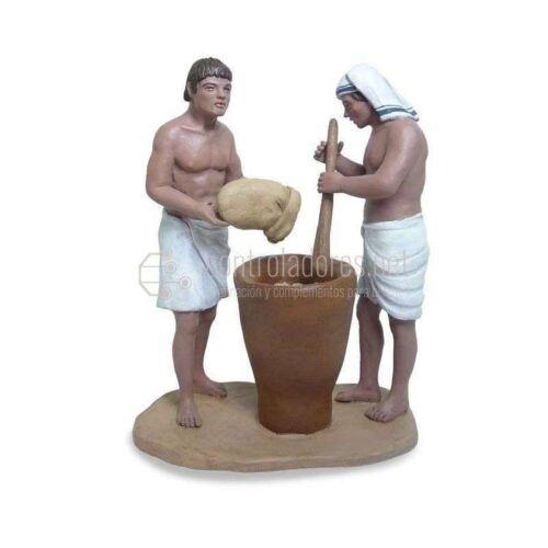 Grupo egipcios moliendo