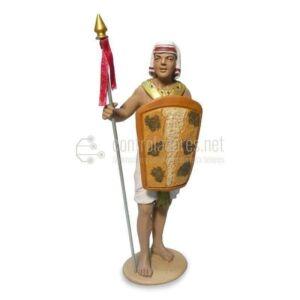 Soldado egipcio derecha