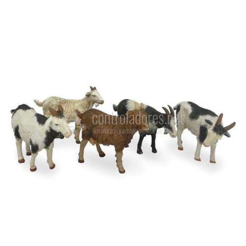 Cabras surtidas para 14 cm. ( 10 Unidades )