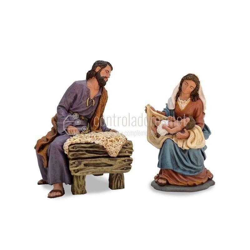 Nacimiento Nº 1 (3 piezas con niño)