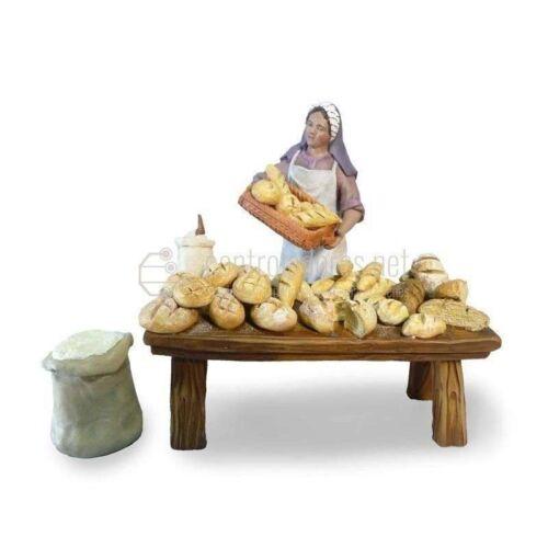 Panadera con puesto