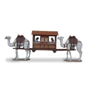 Caravanera con figure