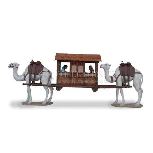 Caravanera con figuras