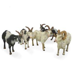 Cabras surtidas para 19 cm. ( Caja 5 Unidades )