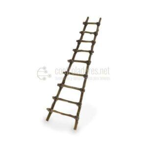 Escalera rústica