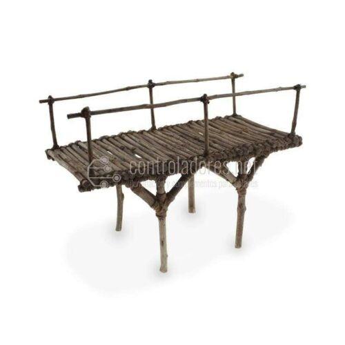 Puente de madera de olivo