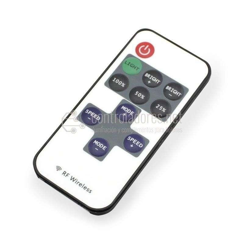 Regulador MONOCROMO con control remoto.