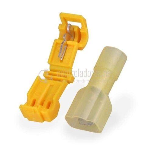Pareja conexión rápida faston para cable 4-6mm2