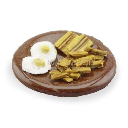Plato de Huevos fritos con patatas