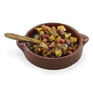Fuente de Carne con patatas