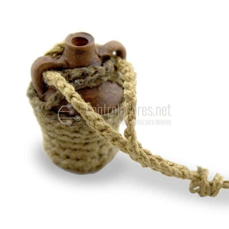 Cantara pequeña con cuerda
