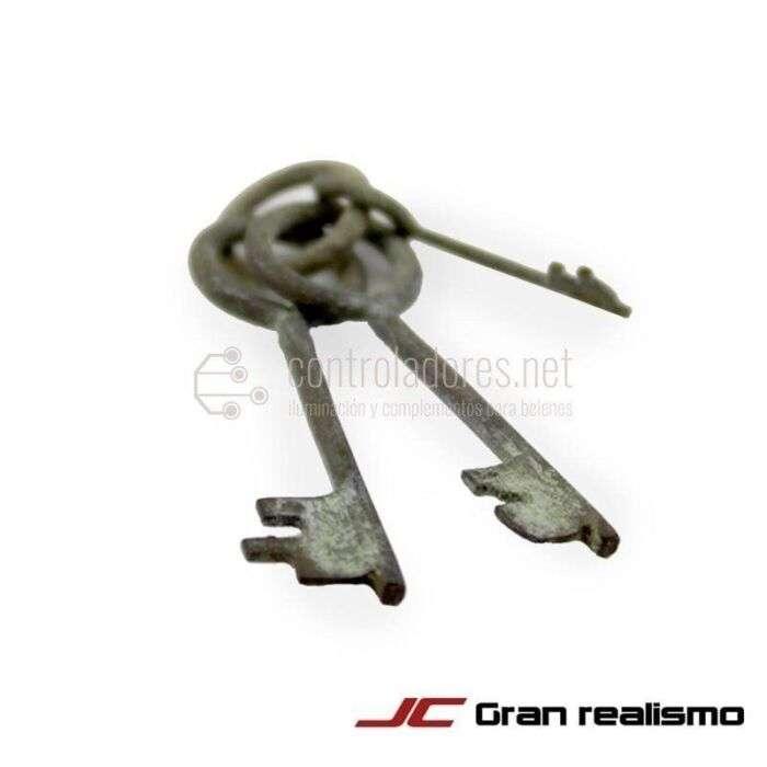 Juego de llaves de metal