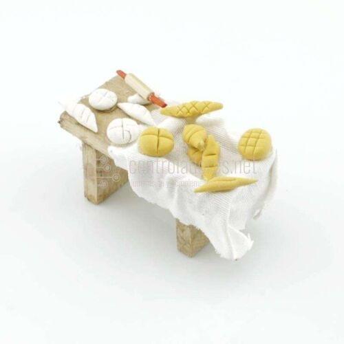 Mesa pequeña para hacer pan