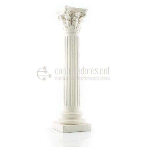 Columna entera mediana de marmolina