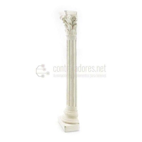 Media columna mediana de marmolina