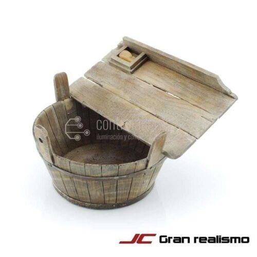 Barreño con tabla para lavar pequeño