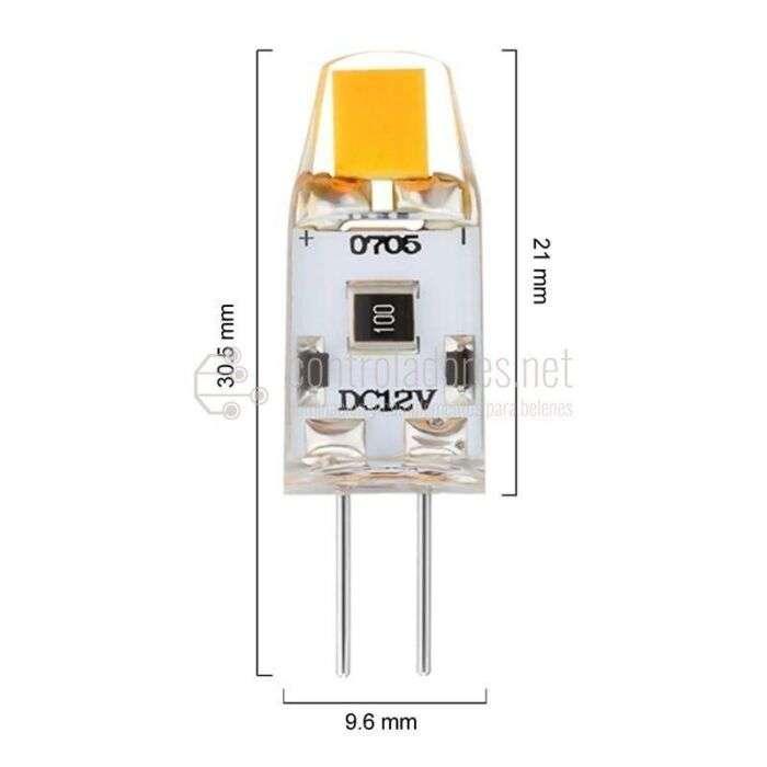 Lámpara LED 2W 220V