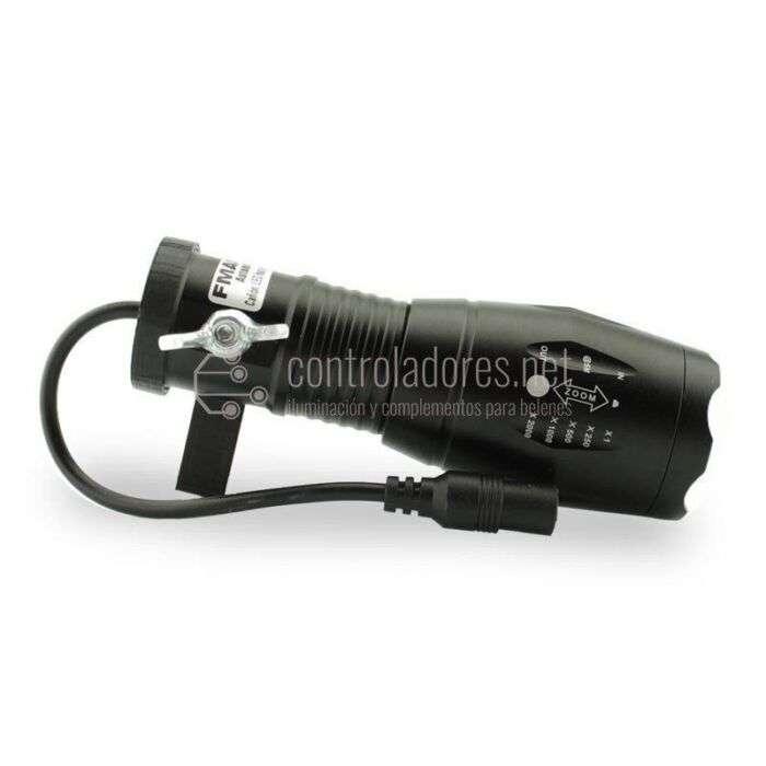 Cañón de luz haz regulable 3W 12V