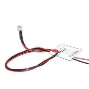 LED 3mm 12V BLANCO efecto llama con cable