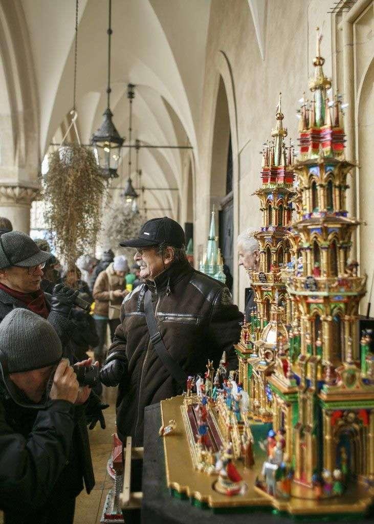 Exposición de belenes de Cracovia