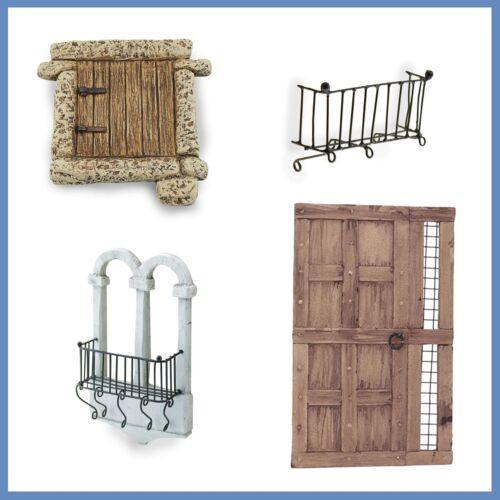 Puertas, ventanas y balcones