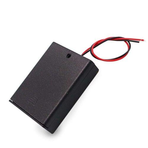 Portapilas 6V con interruptor (pilas AAA)