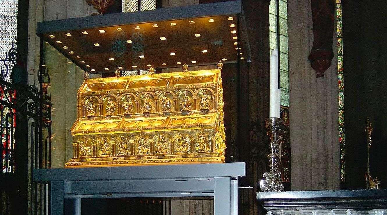 Las reliquias de los Tres Reyes Magos